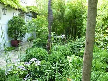 Conception am nagement de parcs et jardins par g raldine fortin paysagiste en normandie - Petit jardin de charme tourcoing ...