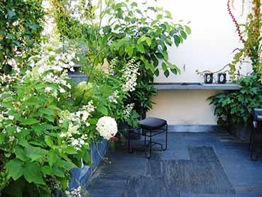 Conception am nagement de terrasses par g raldine fortin for Amenagement jardin 100m